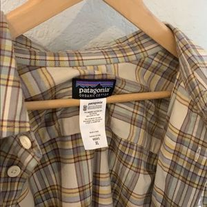 Patagonia Long Sleeve Flannel Button Down Shirt XL